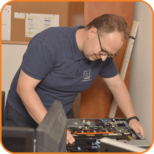 Management of computers and computer technology