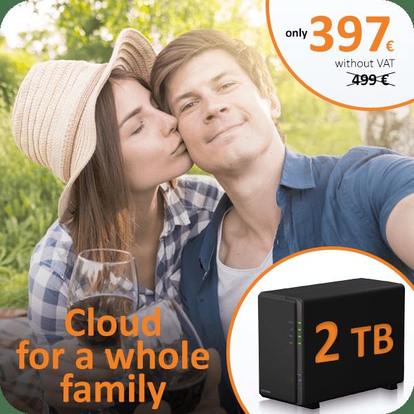 Data storage 2TB