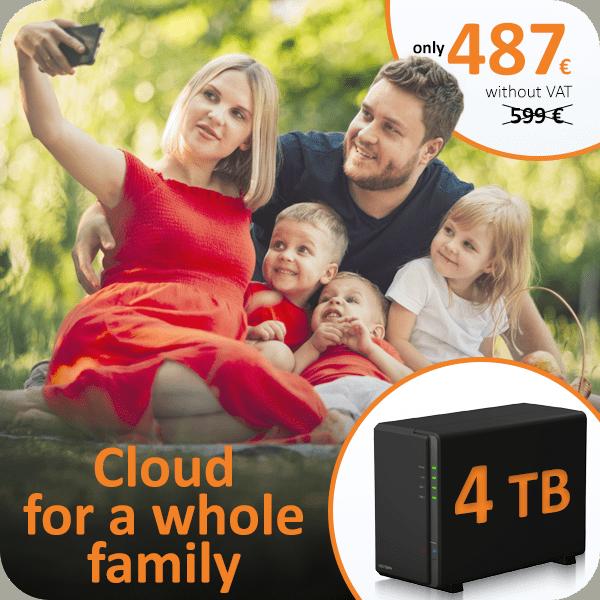Data storage 4TB