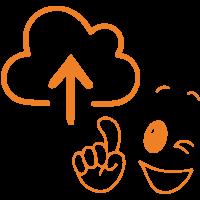 Cloud, data storage, home storage, cloud services